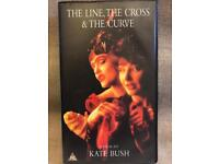 Kate Bush The Line, The Cross & The Curve Video VHS
