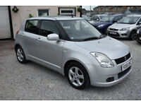Suzuki Swift 1.5 GLX SILVER 5 DOOR 2006 MODEL
