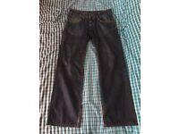 Firetrap Jeans - Men's - Dark Blue - 33W 34L