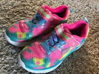 Girls sketchers size 11.5
