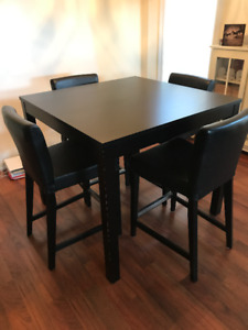 Ikea Bar Height Table & Chairs