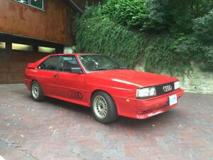 1985 Audi Ur Quattro - Ultra Rare Quattro For Sale