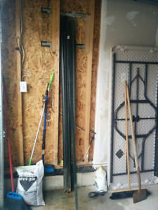 7 foot fence posts - OBO