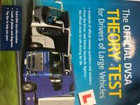 HGV theory Book official DVSA