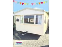 Static holiday home for sale at Ocean Edge Morecambe pet friendly 12 month season