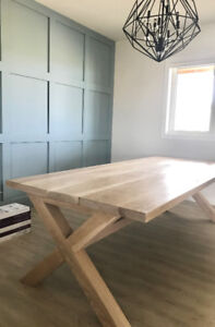 Custom Wood Tables and Benches