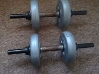 Orbarton Set Of 2 (Fit for Life) 2kg Dumbbell Weights for Excercise & training !