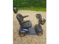 Drive Medical Envoy 8 8mph Blue Mobility Scooter With Captains Seat & More - Hardly Used