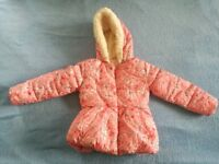 Girls 4-5 coat - Mothercare