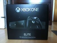 Xbox One Elite 1Tb Console complete with controller