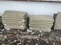 Yorkstone circle 5m diamteter or curved steps, wall coping, seats bargain