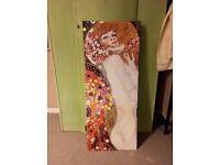 Gustav Klimt Art Print Canvas Picture Painting Retro Vintage Shakespeare Cleopatra