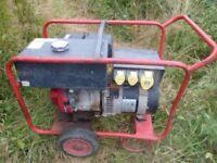 Honda generator 13hp 7.5 KVA 110v cost over £1500 new