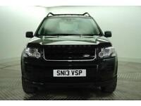 2013 Land Rover Freelander TD4 BLACK AND WHITE Diesel black Manual