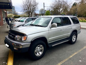 2000 Toyota 4Runner from Vancouver, BC - RUST FREE!