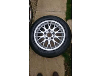 "BMW 16"" alloys with Avon tyres"