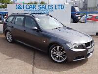 BMW 3 SERIES 2.0 320D M SPORT 5d 161 BHP A GREAT EXAMPLE INSIDE (grey) 2007