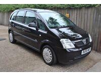 Vauxhall Meriva 2005 55 Reg Recent Clutch Stacks of Service History Cheap Car MOT'd no advisories
