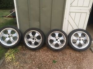 16 inch rims from Honda prelude