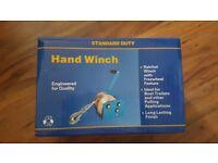 Manual Hand Winch