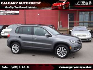 2014 Volkswagen Tiguan Comfortline ALL WHEEL DRIVE/LEATHER/PANO-