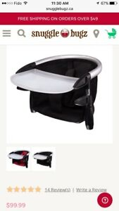 Phil & Ted's Lobster Highchair (Black)