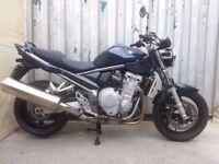 suzuki bandit 1250 low mileage 10k 2008 k8 no px not 600 650 1200