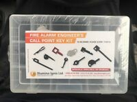Fire alarm call point key kit