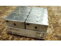 LAP Installation Boxes 1G 25mm 10 Pack