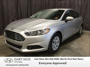 2014 Ford Fusion S 2.5L Great On Gas!