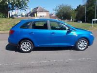 SEAT IBIZA 1.2 TSI SE DSG 5d AUTO 103 BHP (blue) 2010