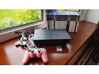 Sony PS2 console and games bundle