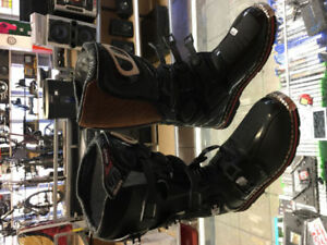MSR-MX DUAL SPORT OFF ROAD BOOTS BLACK MENS SIZE 12 We are open