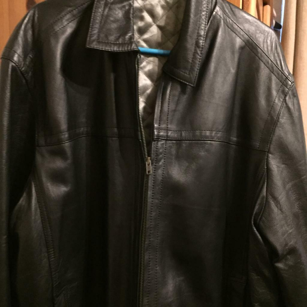 Black Leather Jacket xxlin Peterhead, AberdeenshireGumtree - Mens black leather jacket in very good condition hasnt been worn from smoke free home