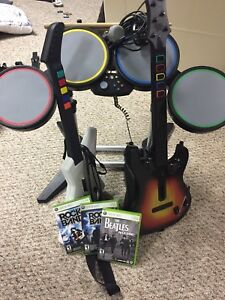 RockBand Full Band Set (Xbox 360)