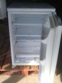 Hotpoint under counter white fridge