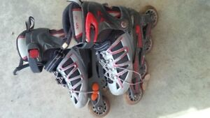 adjustable rollerblades size 2 to 4.5