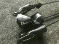 Taylormade m2 driver, m1 5 wood and m2 4 rescue