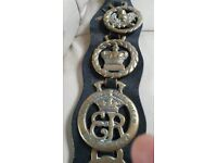 Horse Brasses on Leather Straps