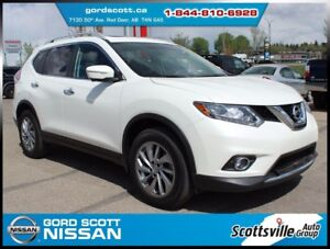 2015 Nissan Rogue SL AWD Premium Pkg, Sunroof, Leather, 1 Owner