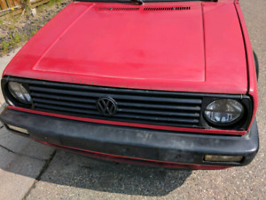 1992 Volkswagen Jetta parts car