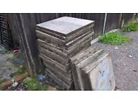 slabs 2by 2 in good condition
