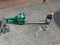 Parkside chainsaw