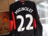 MIGNOLET TOP AS NEW SIZE MED/LARG