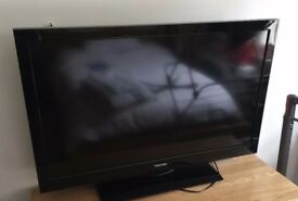 "Toshiba 40"" full Hd tv with freeview hdmi and stand remote"