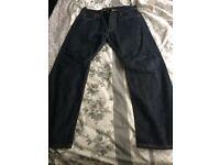Levis 501 stonewash jeans 34W 30L
