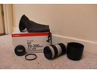 Canon EF 70-200mm f/4 L series USM