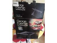 George Foreman 5 portion grill never used