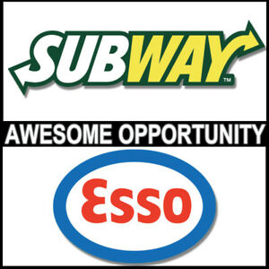 Turn Key - Esso/Subway Restaurant - Email for more info