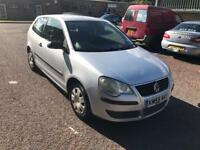 Vw polo 55 plate new mot